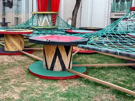 playground reciclado