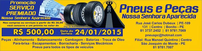 Participe - Sorteio dia 24 de janeiro de 2015