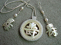 Longevity Necklace and Earrings