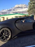 Bugatti Chiron Test Mule