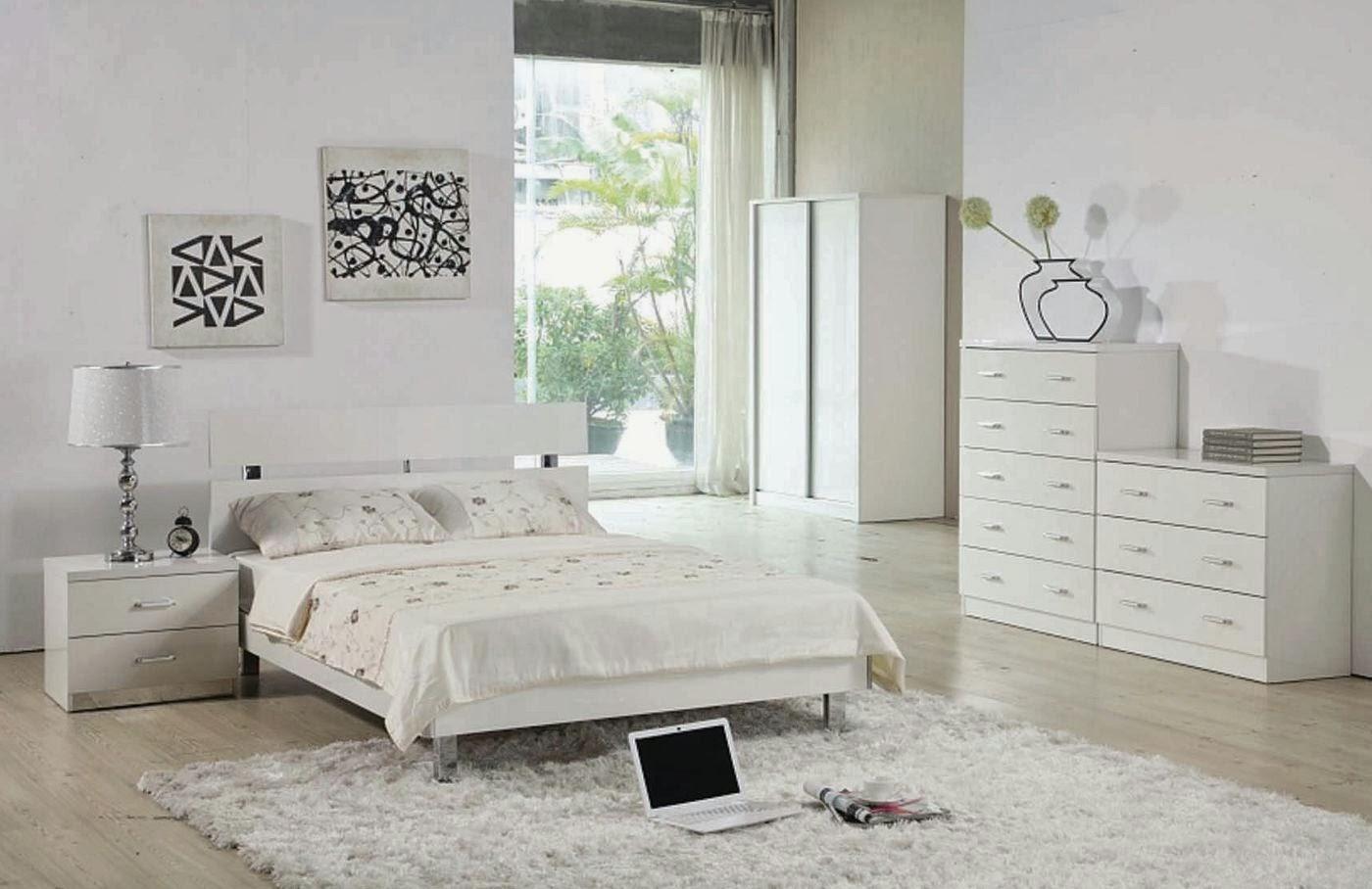 10 contoh desain ide kamar tidur warna putih design rumah
