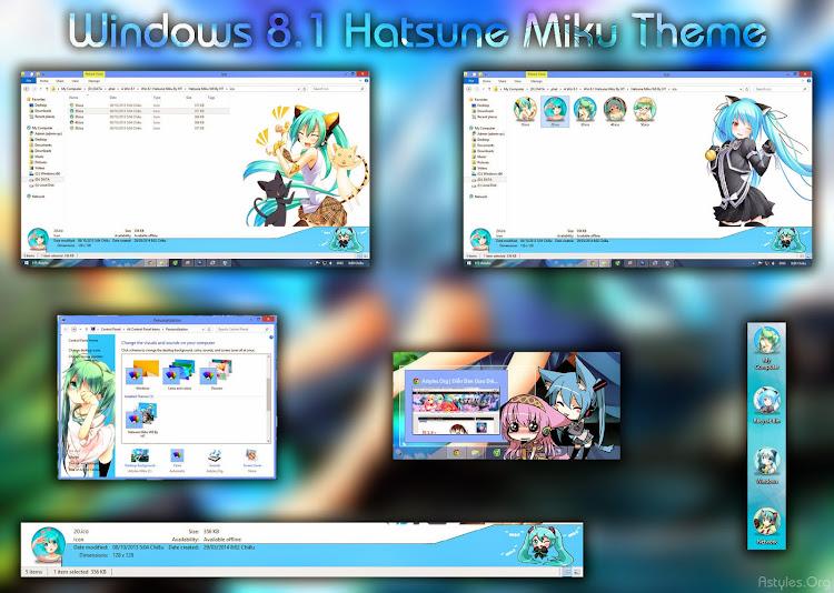 [Theme Win 8/8.1] Hatsune Miku By HT 1