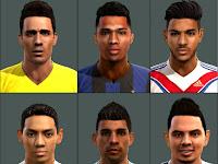 Wajah Pemain Terbaru untuk PES 2013
