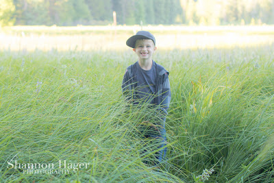 Shannon Hager Photography, Child Portrait, Oregon Meadow