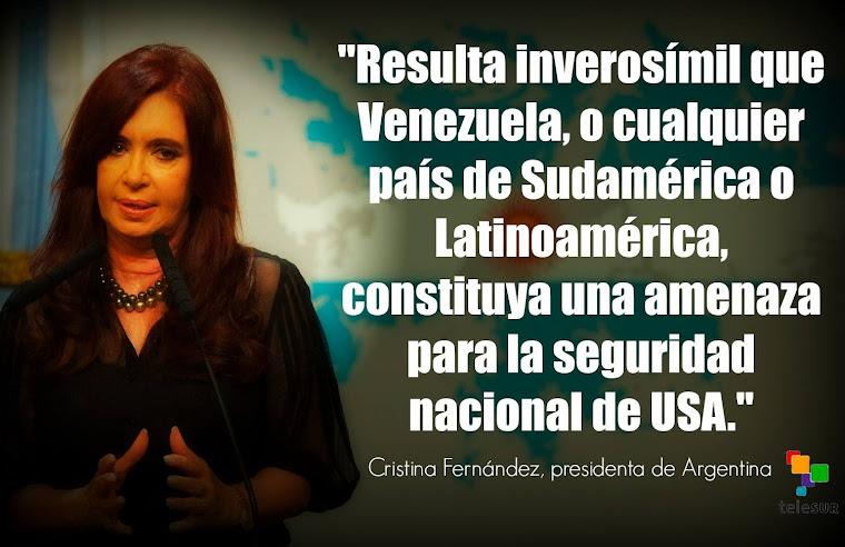 Cristina,,   forja el voto de Argenta