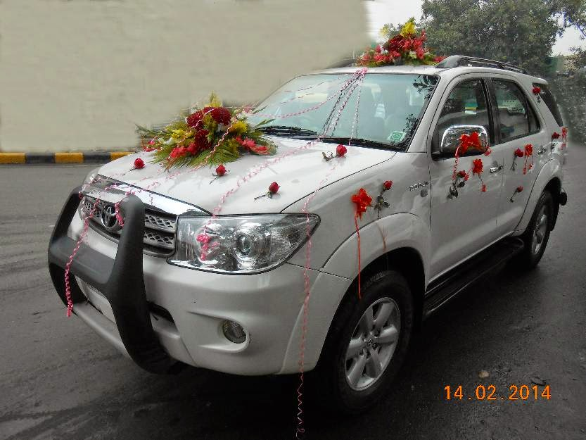 Wedding cars punjab for Maruti 800 decoration