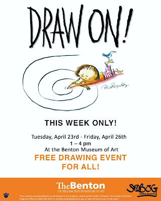 draw on, draw, drawing, Benton Museum, William Benton Museum of Art, UConn, University of Connecticut