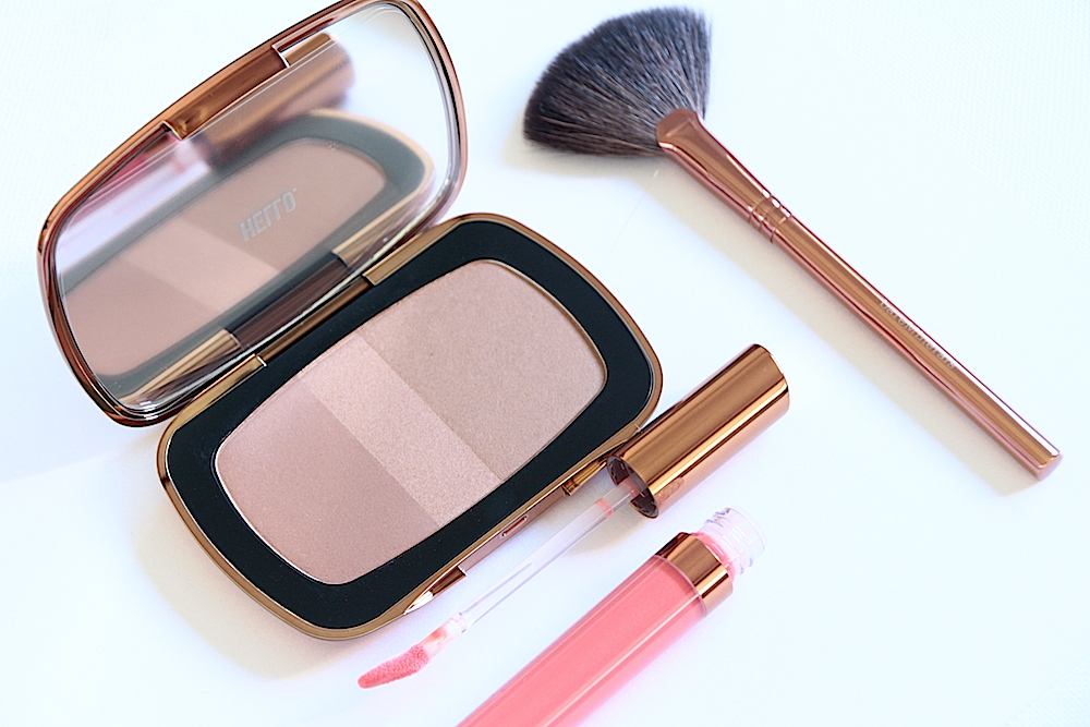 bareminerals the first resort kit bronzer avis test swatch