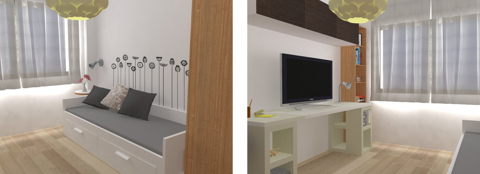Estudio de arquitectura emearq emearq loves ikea en - Habitacion de invitados ...