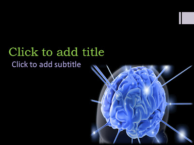 June 2013 free medical powerpoint templates medical ebooks this is a medical powerpoint template that will suit all neurology powerpoint presentations it has an image of the human brain to see how the powerpoint toneelgroepblik Image collections
