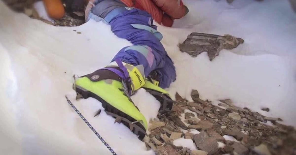 Green boots cave david sharp