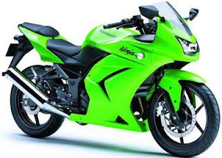Harga motor baru Kawasaki 2012