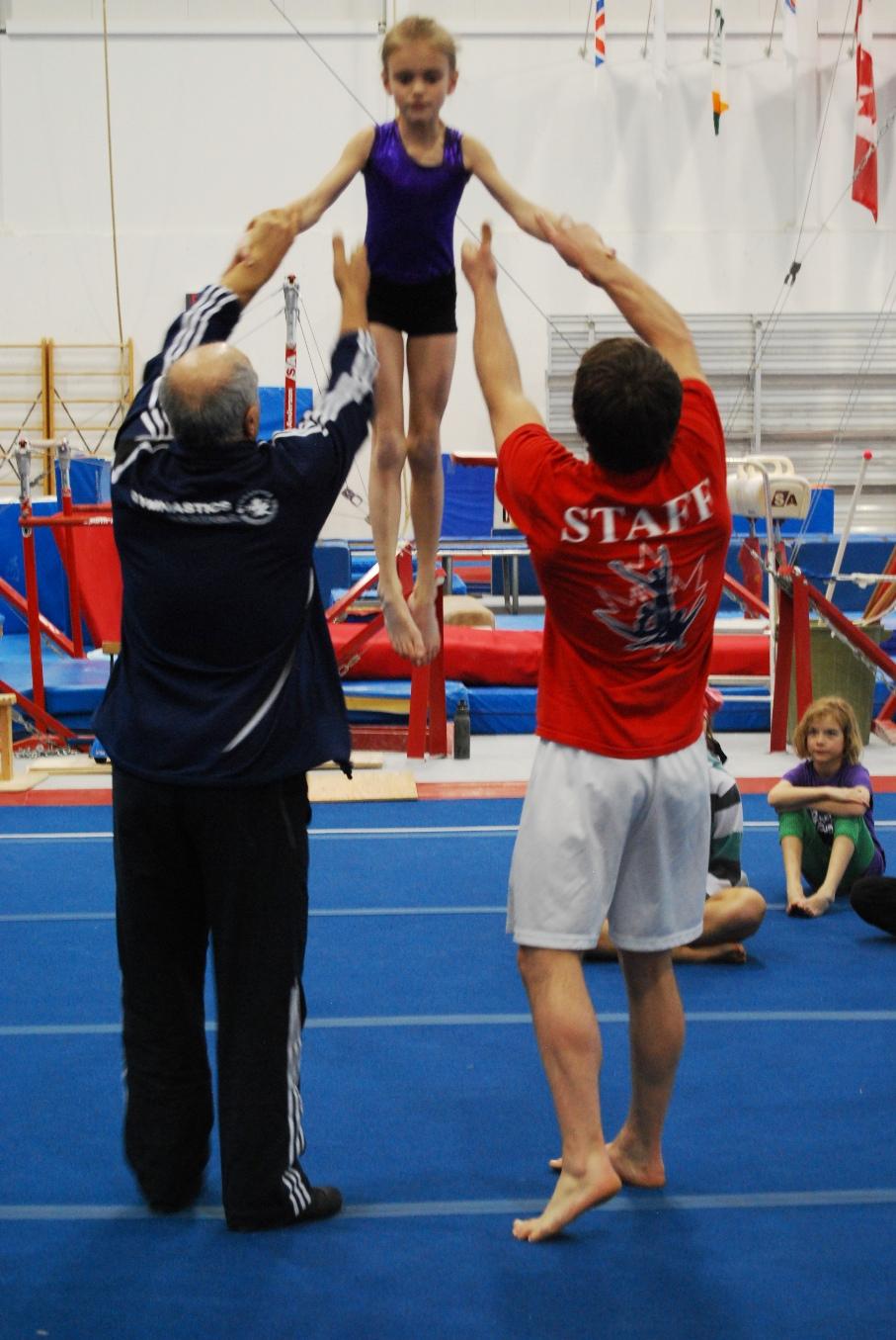 Gymnastics Camp Gymnastics Training Camp