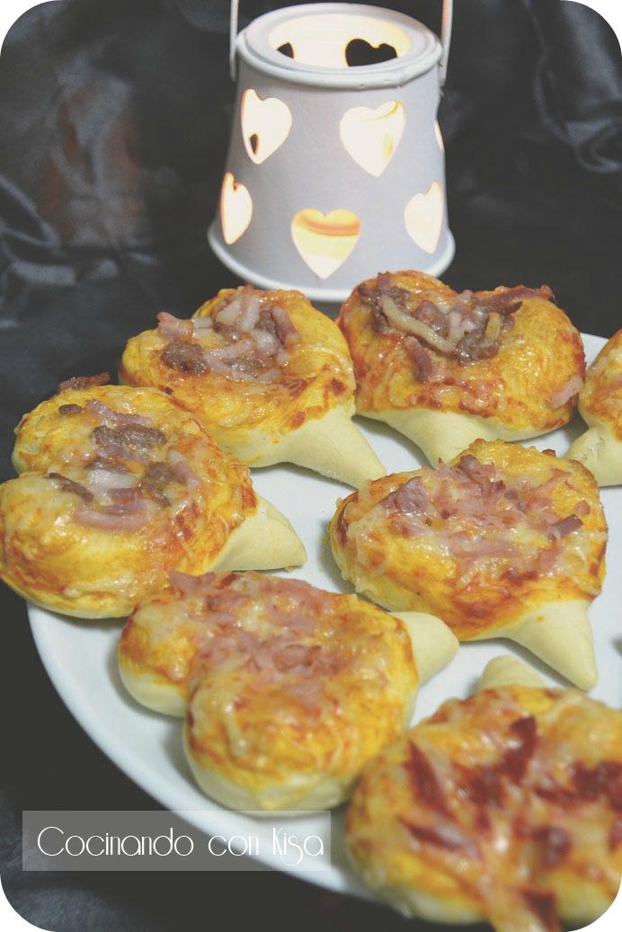 Cocinando con kisa corazones de pizzas kitchenaid for Cocinando con kisa