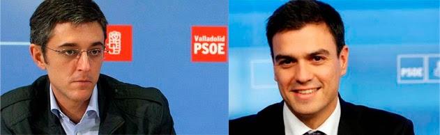 Eduardo Madina, Pedro Sánchez, sucesión Rubalcaba