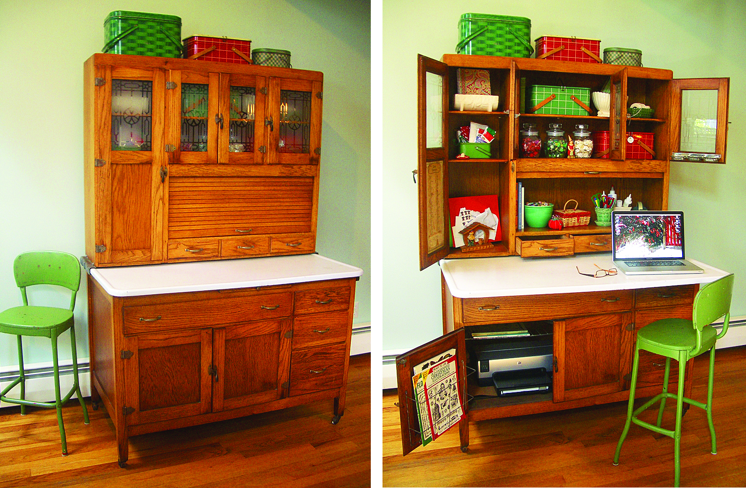 Antique Kitchen Hoosier Cabinets for Sale