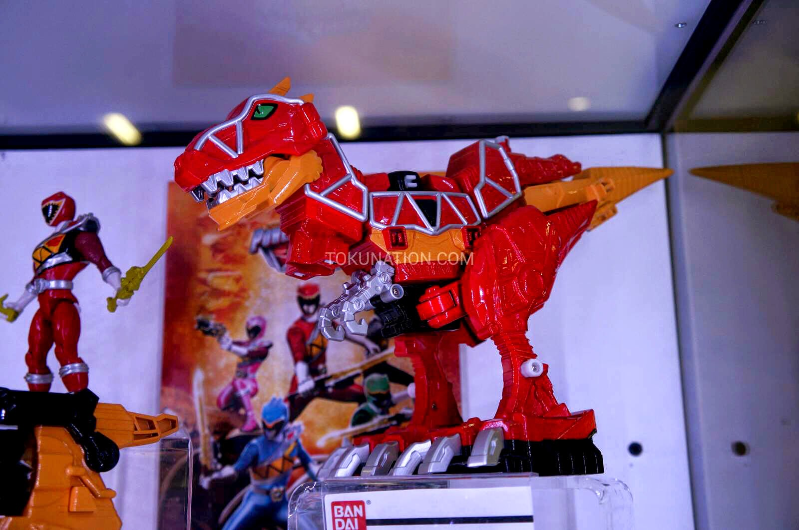 Power Rangers Dino Charge Toys Seen In Sdcc Jefusion