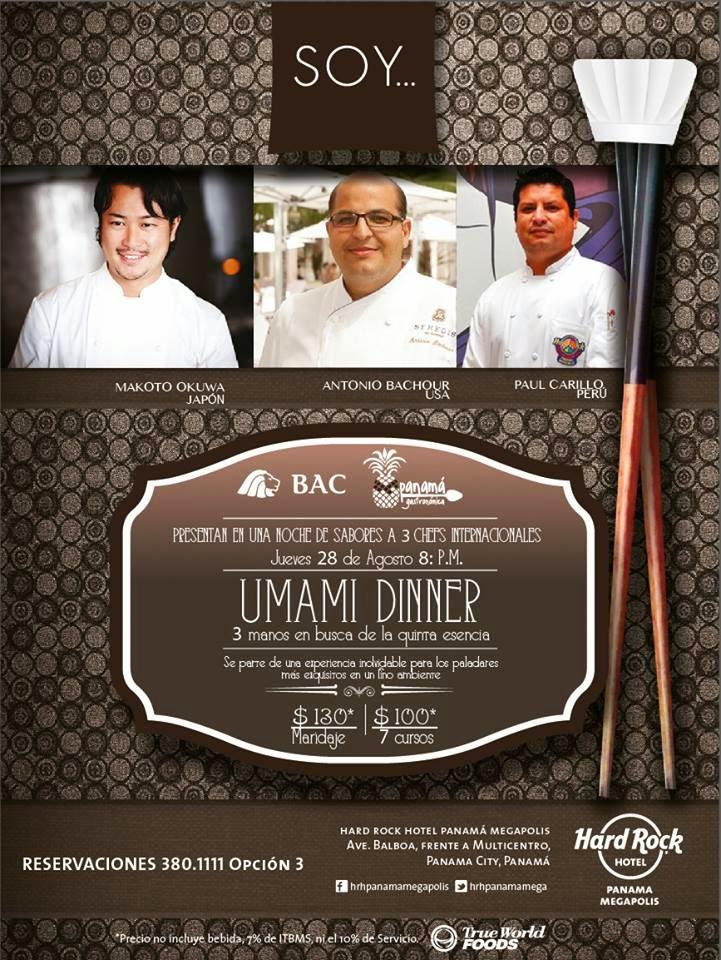 Umami Dinnner - SOY