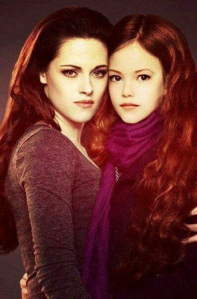 Bella e Renesmee