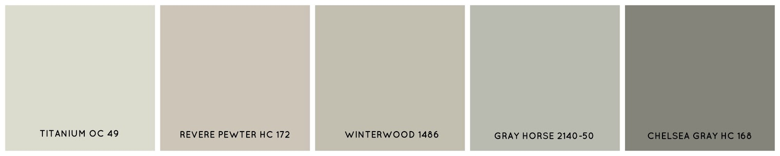 Suggestions for paint colors to your home