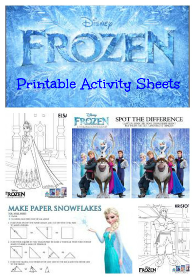Disney Frozen Activities