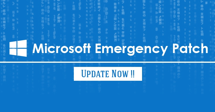 Windows-vulnerability-patch-update