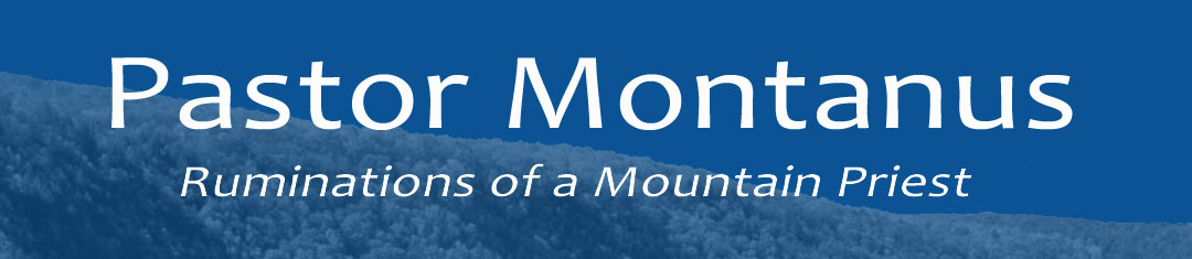 Pastor Montanus - Ruminations of a Mountain Priest