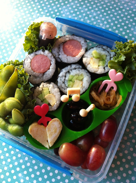hotdog roll, sushi, norimaki, ソーセージののり巻き