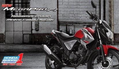 Brosur Harga Kredit Honda New Mega Pro FI Terbaru 2015