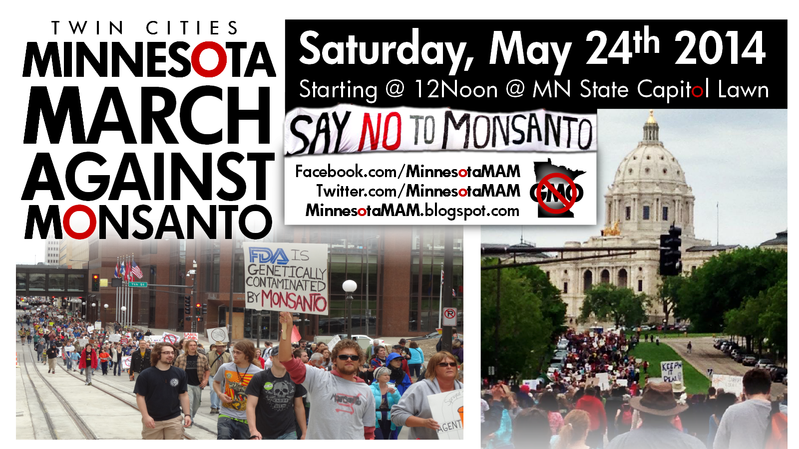 Twin Cities #MarchAgainstMonsanto