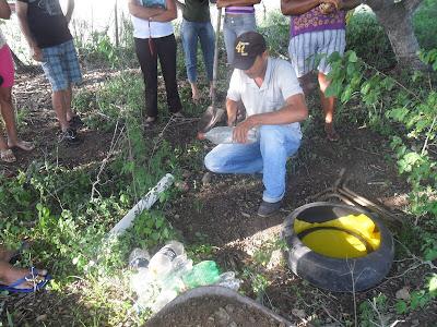 Blog de andreluizichu : REPÓRTER ANDRÉ LUIZ - ICHU - BAHIA - (75) 8122-4970 - DEUS É FIEL - EMAIL: andreluizichu@hotmail.com, Ichu: Realizada atividade sobre Transição Agroecológica na comunidade de Capoeira do Rio