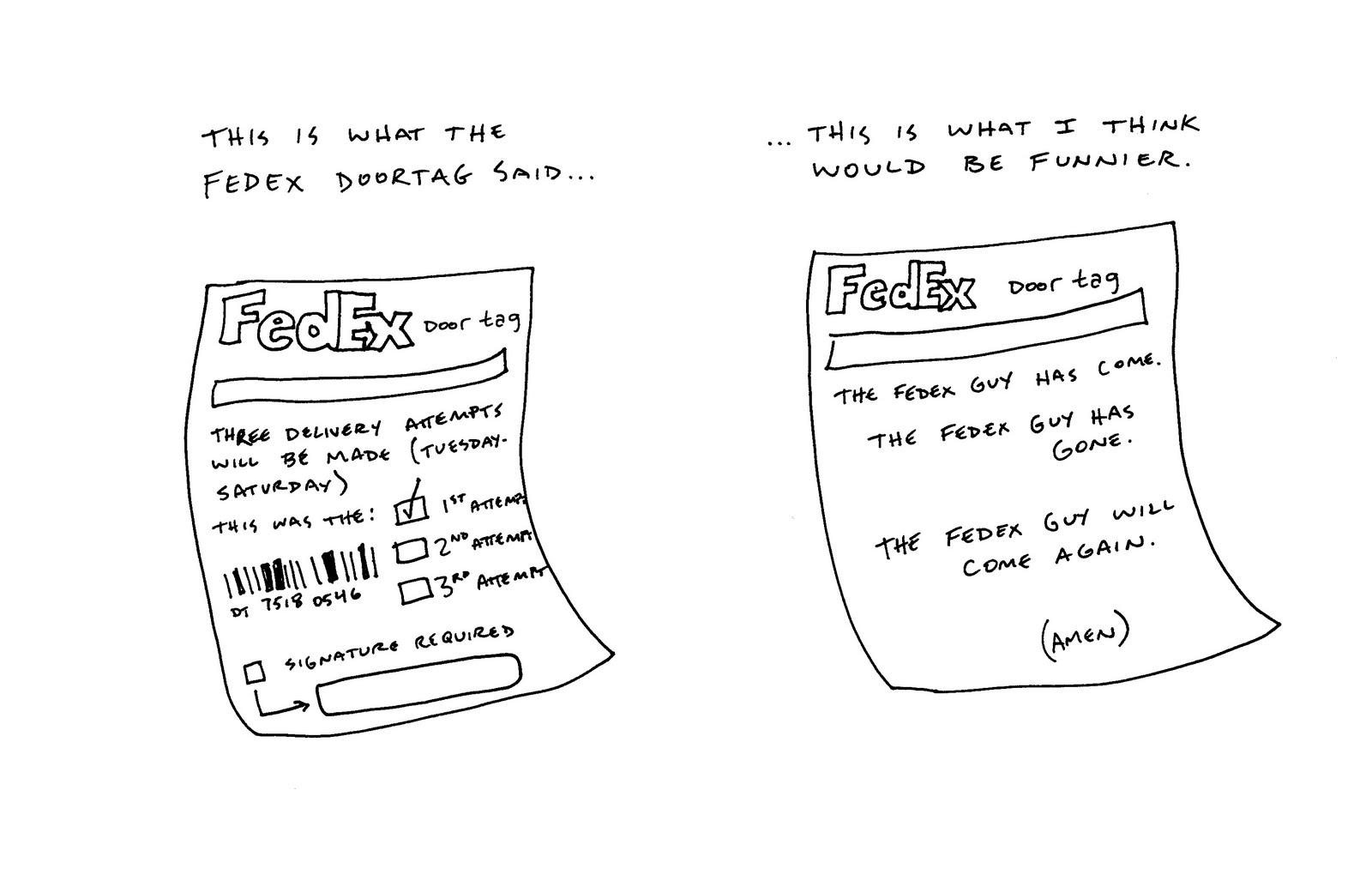 Fedex Door Tag Form. Fedex. Free Image About Wiring Diagram ...