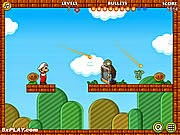 Mario bắn Zombie cứu công chúa, chơi game mario ban sung hay tại gamevui.biz