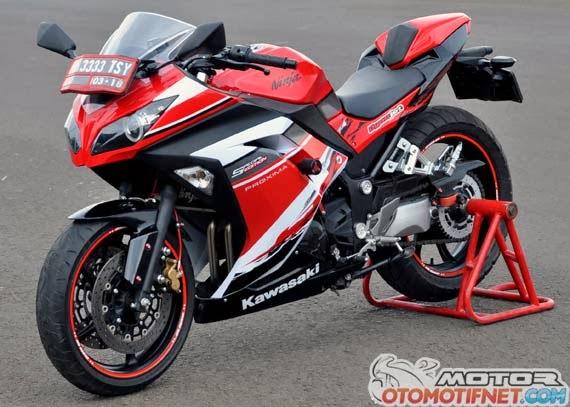 ... New Ninja 250 FI Ekstrem Fairing Tampil Semakin Keren, Tangguh Dan