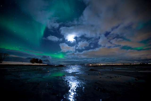 Artic Motion, impresionante video de la aurora boreal por Tor Even Mathisen, 2012
