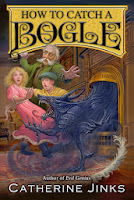 how to catch a bogle by catherine jinks book cover