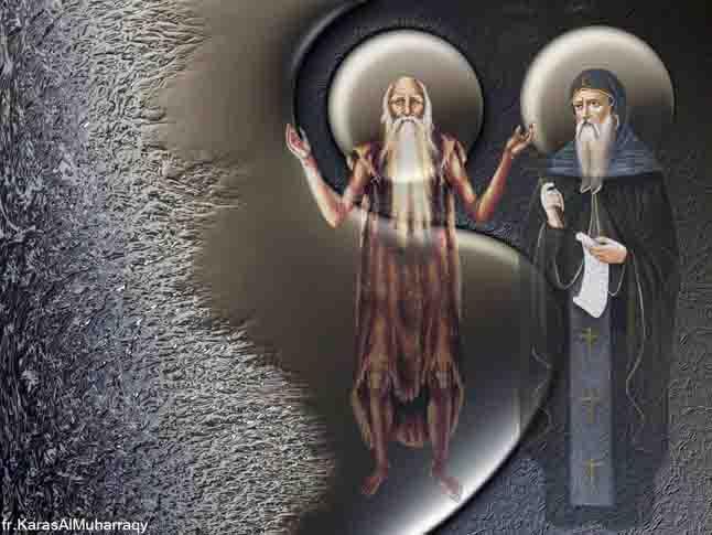 صور أنبا بولا من تصميم الراهب القمص كاراس المحرقي