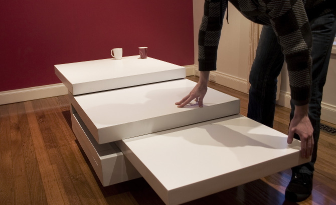 between the lines expandable coffee table concept   spicytec