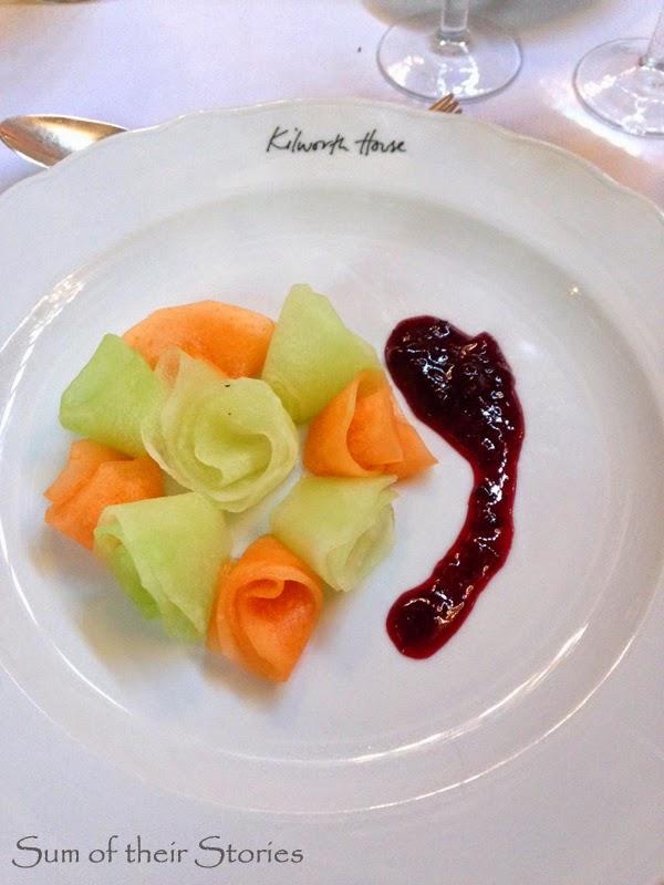 Melon Starter at Kilworth House for Silent Sunday