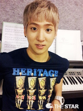 B1A4 Baro's instagram account