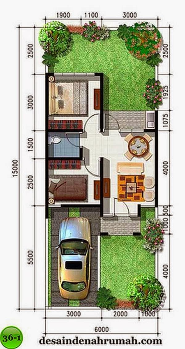 desain rumah minimalis type 36 4