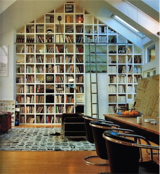 libreria en el despacho