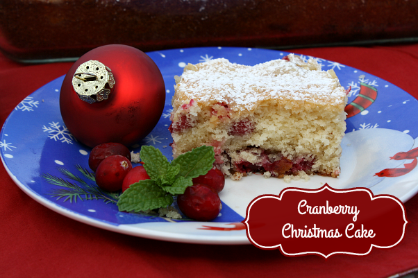 today i have a delicious christmas cake to share with yall i have several bags of fresh cranberries in my freezer so i needed a new recipe to use some of