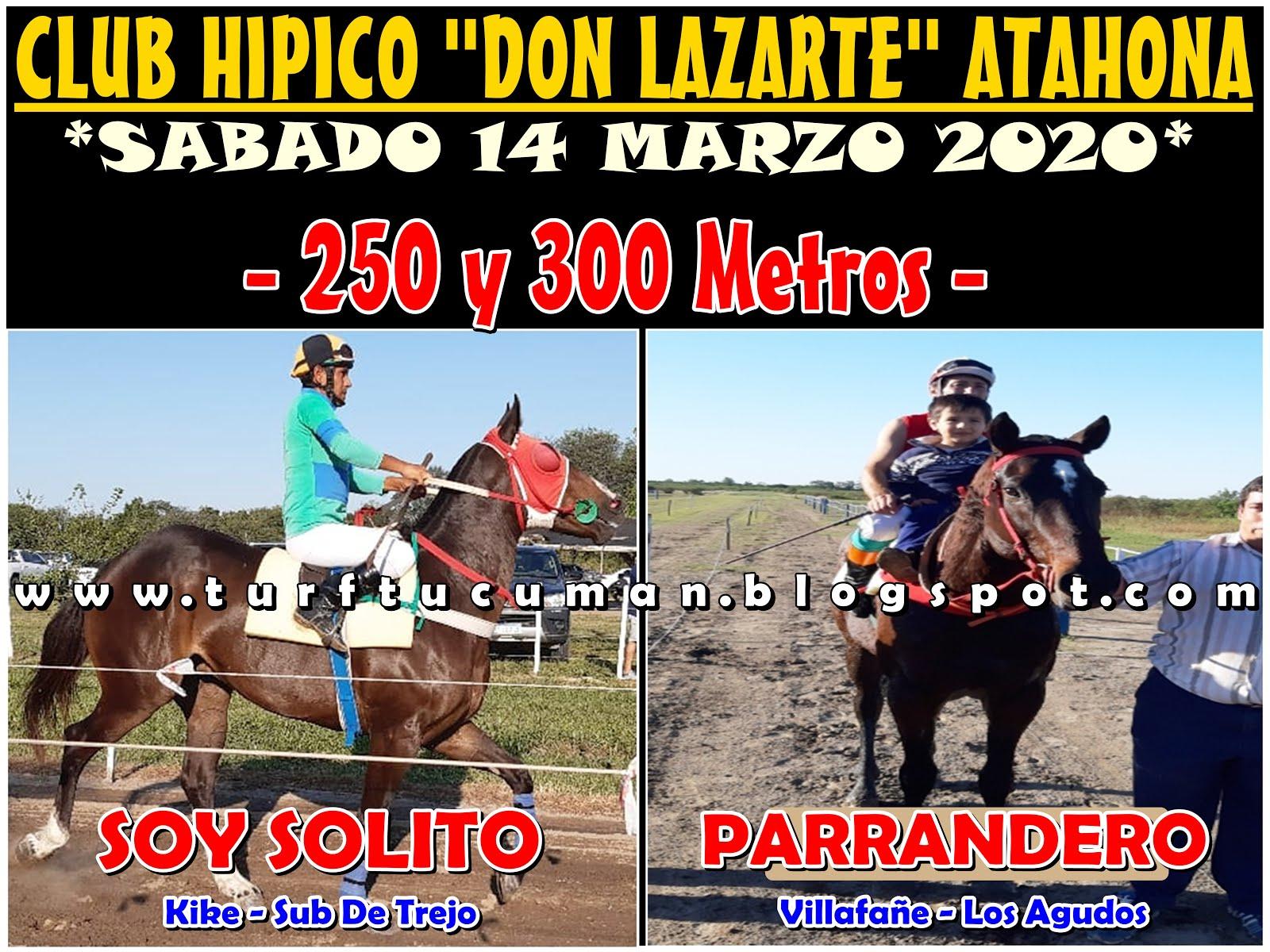 SOLITO VS PARRANDERO