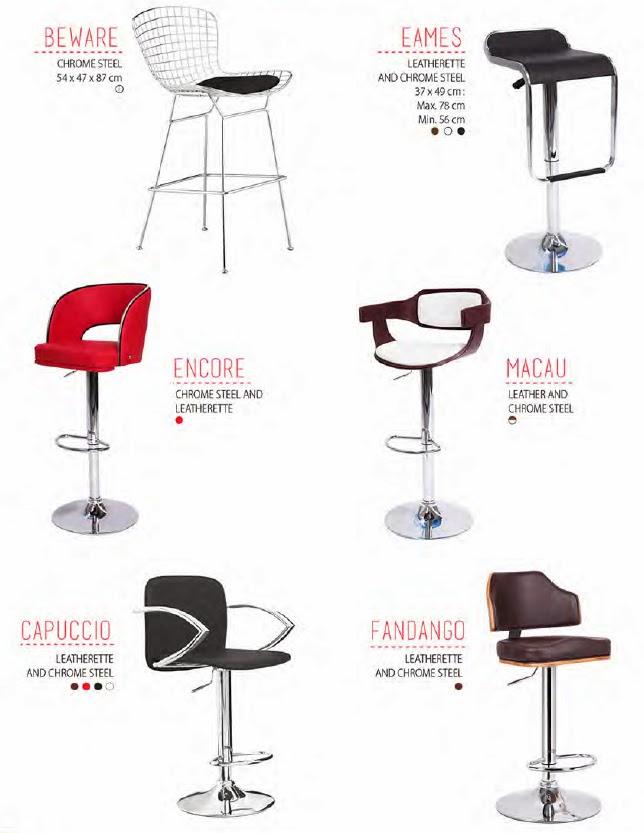 Decoraci n de restaurantes sillas altas periqueras - Sillas altas bar ...