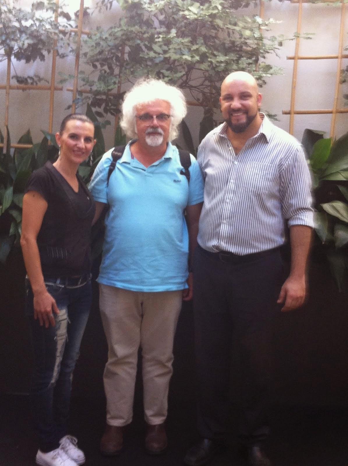 Con Fabrizio Roversi..