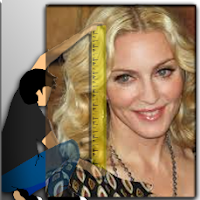 What is the height of Madonna?