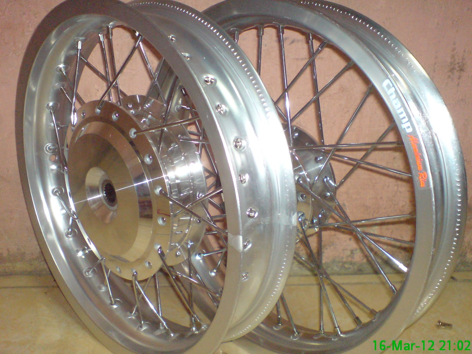 Velg Champ Silver Ring 14 Buat Vario Beat Scoopy