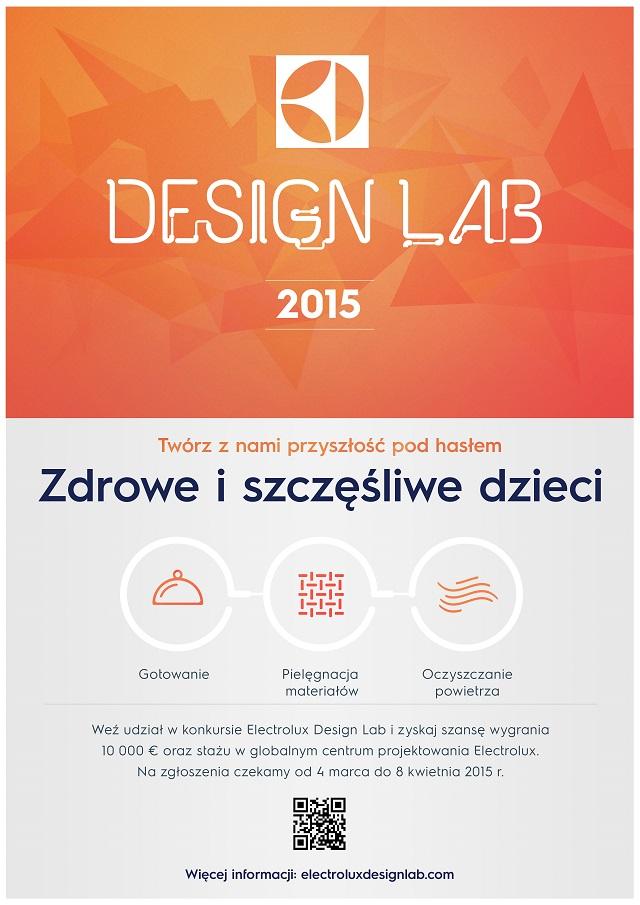 Electrolux Design Lab 2015 - plakat