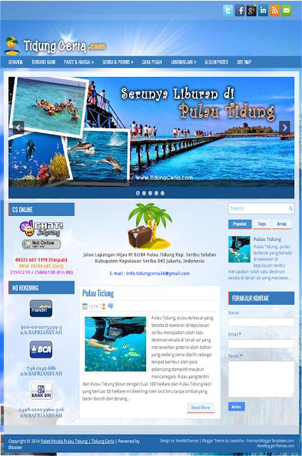 Jasa Pembuatan Web Travel